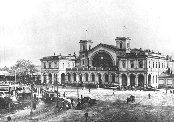 Фотография вокзала. Балтийский вокзал в Санкт-Петербурге