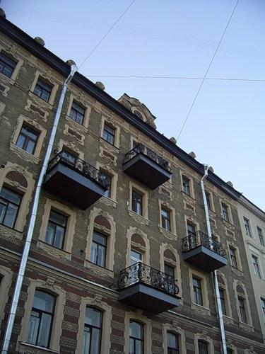 Фотография достопримечательности. Площадь Тургенева в Санкт-Петербурге