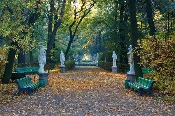 Фотография достопримечательности. Летний сад в Санкт-Петербурге