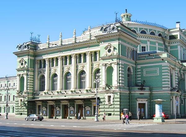 театр мариинский санкт-петербург фото
