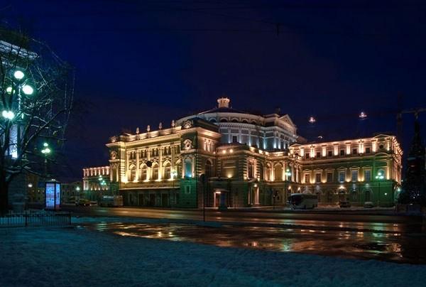 Фотография достопримечательности. Мариинский театр в Санкт-Петербурге