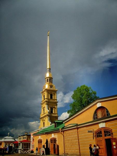 Фотография достопримечательности. Петропавловская крепость в Санкт-Петербурге