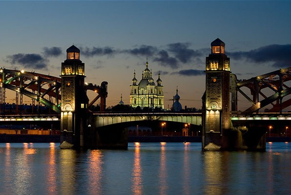 Фотография достопримечательности. Смольный собор в Санкт-Петербурге