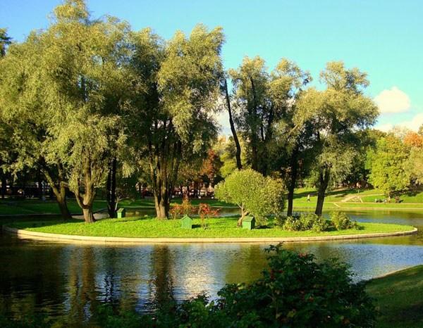 Фотография достопримечательности. Юсуповский сад в Санкт-Петербурге