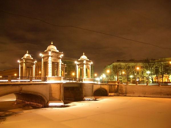 Фотография достопримечательности. Старо-Калинкин мост в Санкт-Петербурге