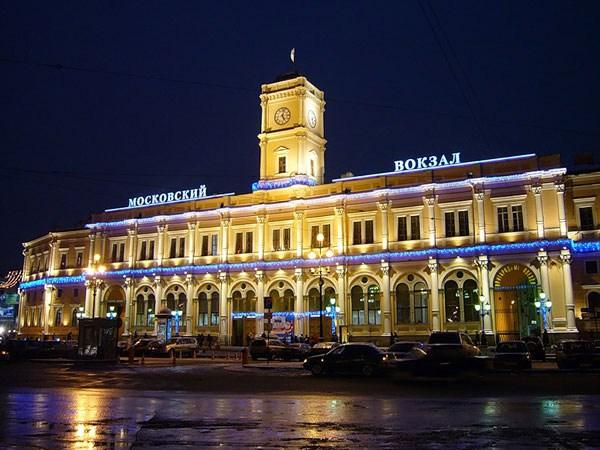 Фотография вокзала. Московский вокзал в Санкт-Петербурге