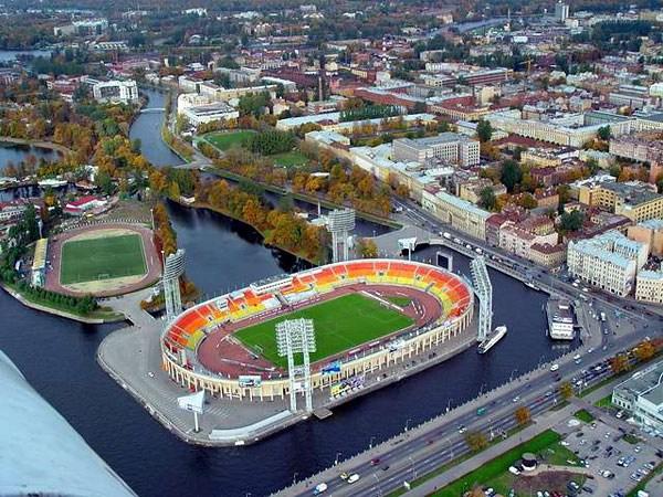 Adresa Petrovského štadióna
