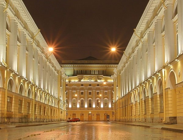 Фотография достопримечательности. Улица Зодчего Росси в Санкт-Петербурге