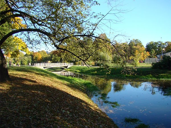 Фотография достопримечательности. Таврический сад в Санкт-Петербурге