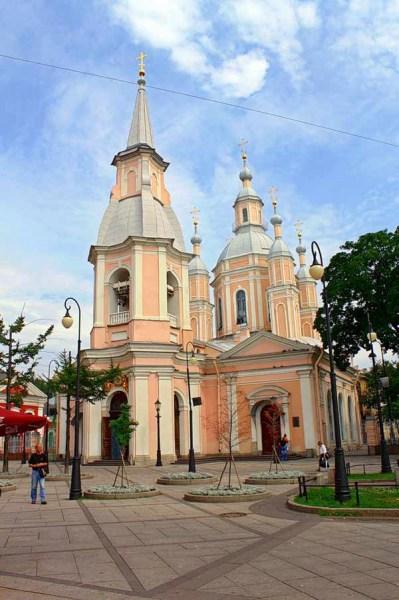 Фотография достопримечательности. Андреевский собор в Санкт-Петербурге