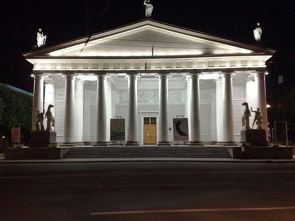 Фотография достопримечательности. Конногвардейский манеж (Выставочный зал Манеж) в Санкт-Петербурге