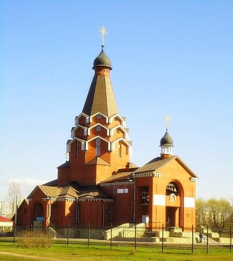 Фотография достопримечательности. Церковь Святого Георгия в Санкт-Петербурге
