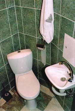 Ванная комната в хостеле Слип Чип (Sleep Cheap), Санкт-Петербург
