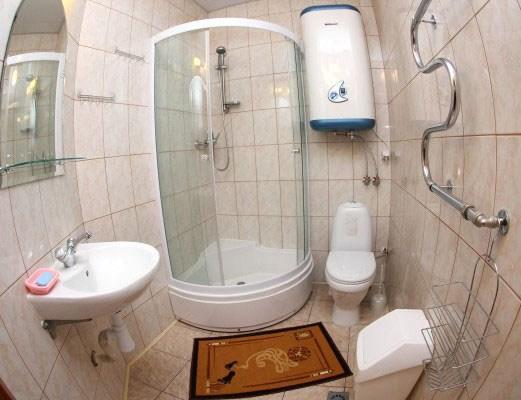 Санузел, мини-отель Олд Флат в  Санкт-Петербурге