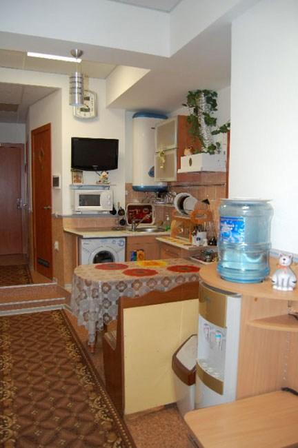 Кухня, мини-отель Олд Флат в  Санкт-Петербурге