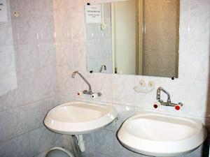 Ванная комната, хостел Марионетка, Санкт-Петербург
