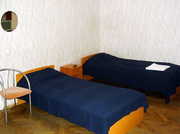 Номер TWIN в недорогой гостинице Август в Санкт-Петербурге