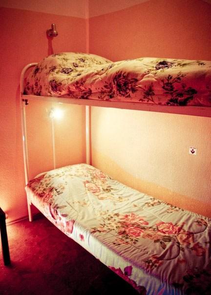 Хостел Alpha Hostel, четырехместный номер