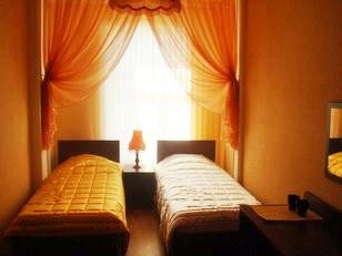 Двухместный номер в недорогой гостинице Пассажир. Санкт-Петербург