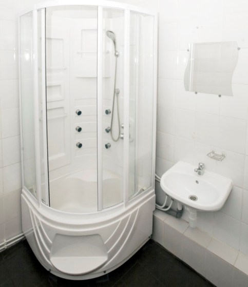 Ванная комната в хостеле Сабрина Эконом, Санкт-Петербург