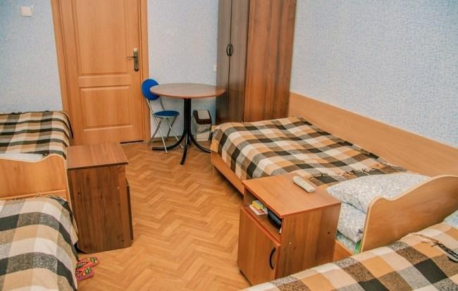 4-местный номер в хостеле Староневский, Санкт-Петербург