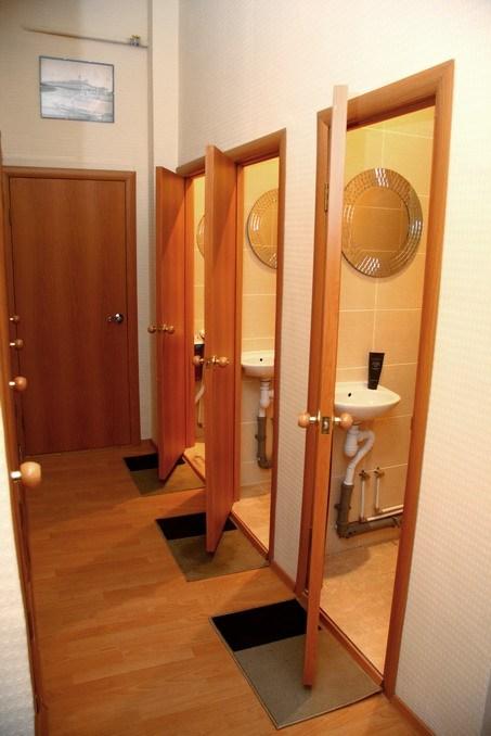 Ванная комната в хостеле Старый Петербург