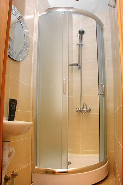 Ванная комната в отеле Старый Петербург
