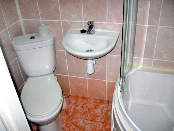 Ванная комната хостел Циммер Найс, Санкт-Петербург