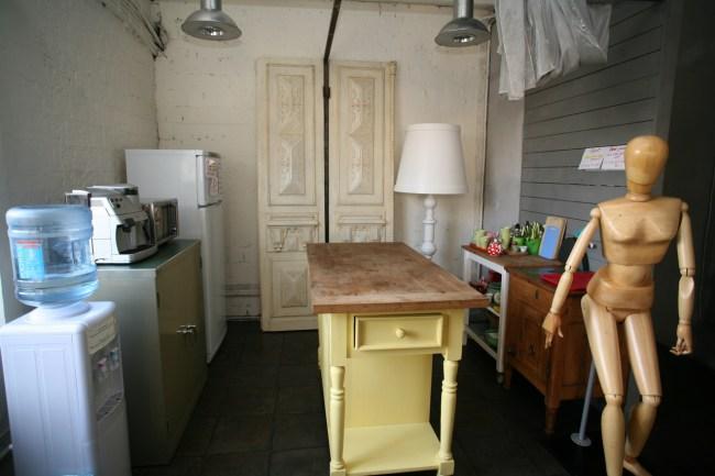 Location Hostel Лиговский 74, кухня