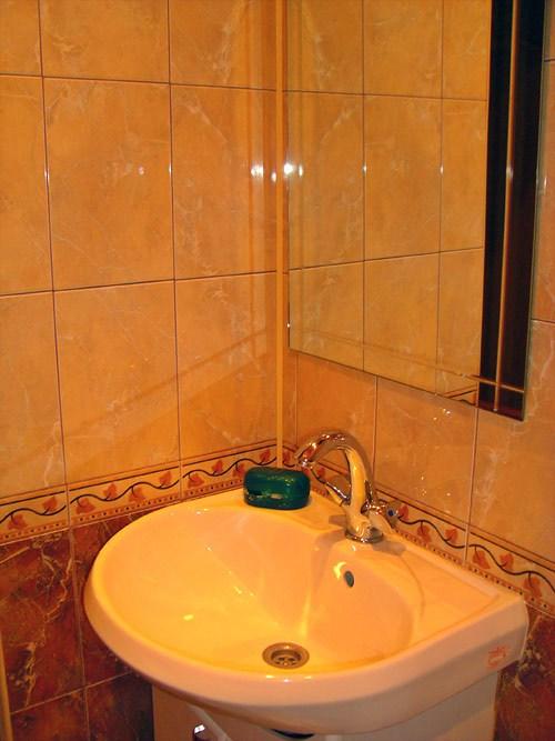 Ванная комната в хостеле Юлана на Невском, Санкт-Петербург