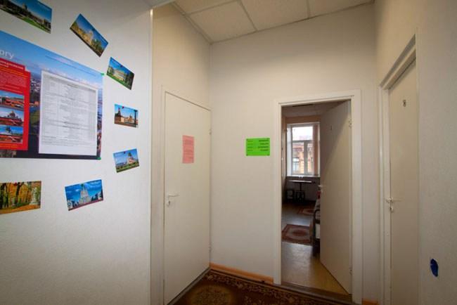 Хостел Весь Мир в Санкт-Петербурге, коридор