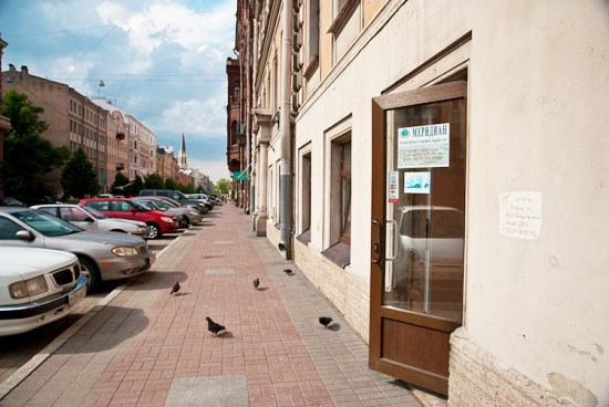 Фотография хостела Меридиан в Санкт-Петербурге