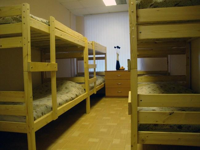 Дилл хостел (Dill ) в Санкт-Петербурге, восьмиместный номер