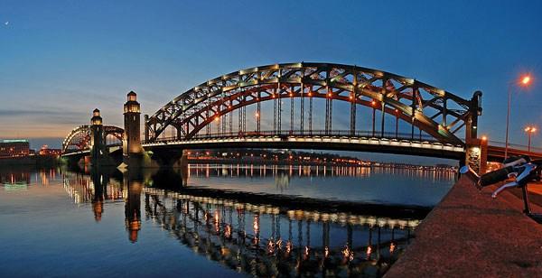 Фотография достопримечательности Мост Петра Великого