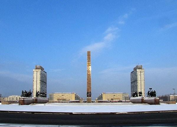 Фотография достопримечательности. Площадь победы в Санкт-Петербурге