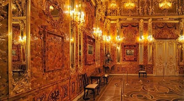 Фотография достопримечательности Янтарная комната