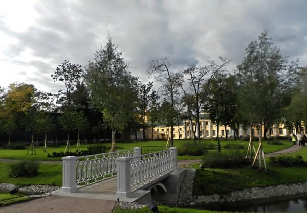 Фотография достопримечательности. Польский сад в Санкт-Петербурге