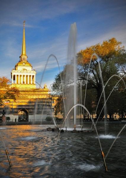 Фотография достопримечательности. Адмиралтейство в Санкт-Петербурге