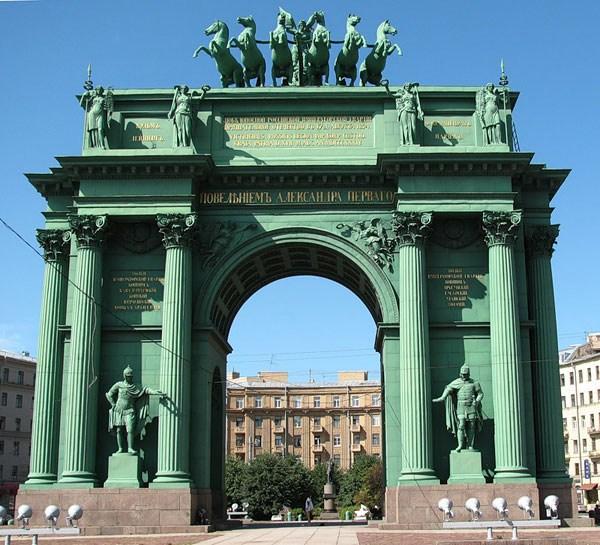 Фотография достопримечательности Нарвские ворота