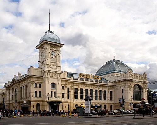 Фотография вокзала. Витебский вокзал в Санкт-Петербурге