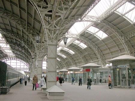 Фотография достопримечательности. Витебский вокзал в Санкт-Петербурге