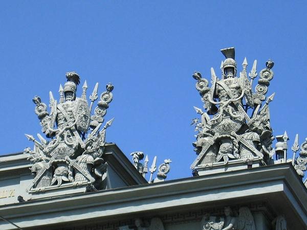 Фотография достопримечательности. Московские ворота в Санкт-Петербурге