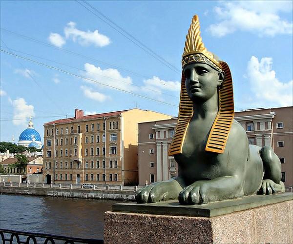 Фотография достопримечательности Египетский мост