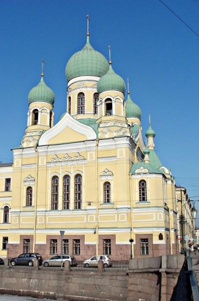 Фотография достопримечательности. Церковь св. Исидора Юрьевского в Санкт-Петербурге