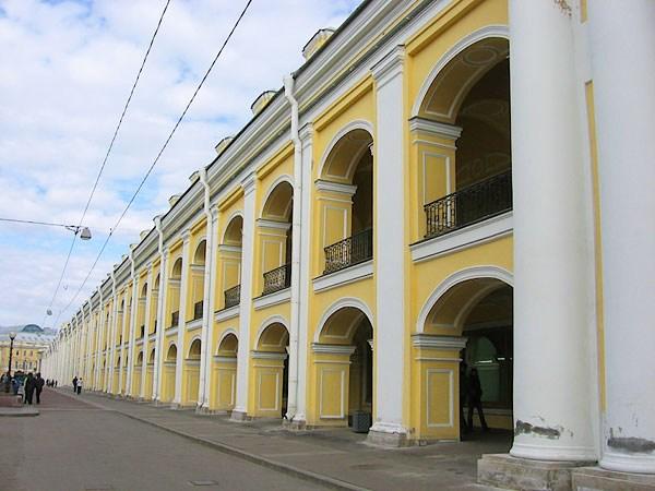 Фотография достопримечательности. Гостиный двор в Санкт-Петербурге