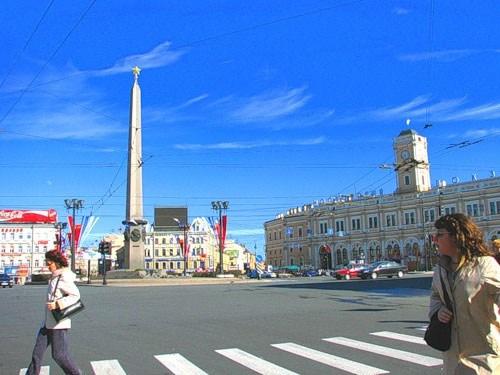 Фотография достопримечательности. Площадь Восстания в Санкт-Петербурге