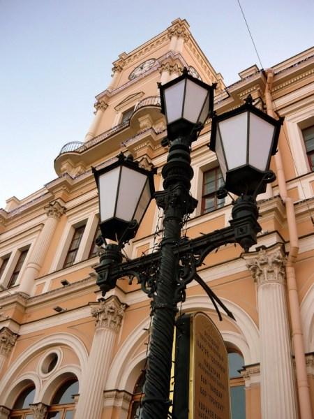 Фотография достопримечательности. Московский вокзал в Санкт-Петербурге