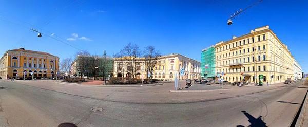 Фотография достопримечательности. Площадь Ломоносова в Санкт-Петербурге