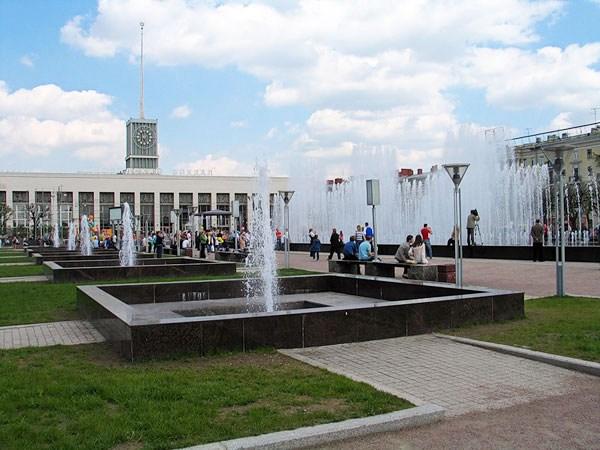 Фотография достопримечательности. Финляндский вокзал в Санкт-Петербурге
