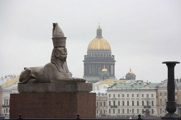 Фотография достопримечательности. Сфинксы в Санкт-Петербурге